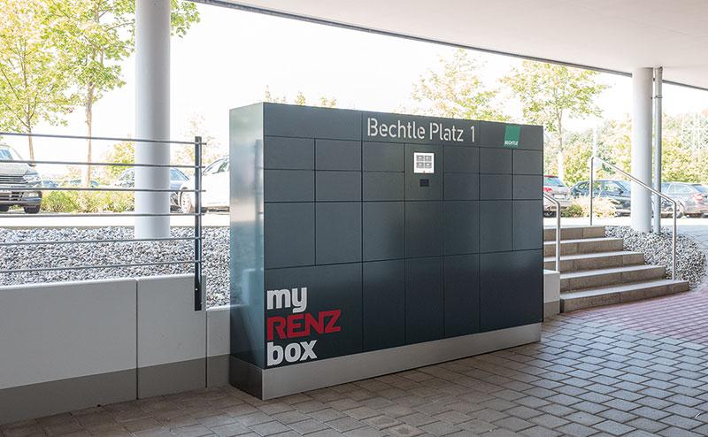 Paketbox für die bequeme Paketzustellung