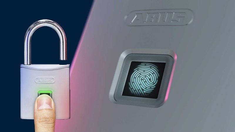 Abus Fingerprint Touch Vorhangschloss