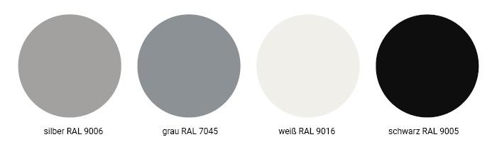 Höhenverstellbares Tischgestell in RAL-Farben