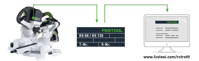 Festool Kapex Sicherheitshinweis